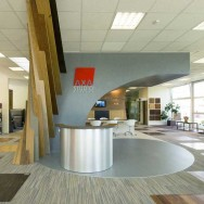 AXA showroom - interior
